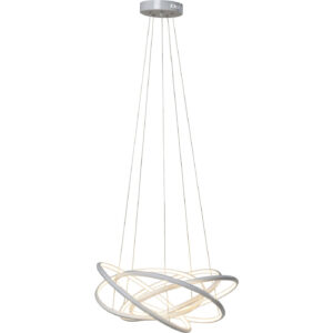 KARE DESIGN Saturn LED White Big loftlampe - hvid aluminium