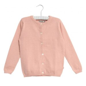 Wheat Cardigan Misty Rose